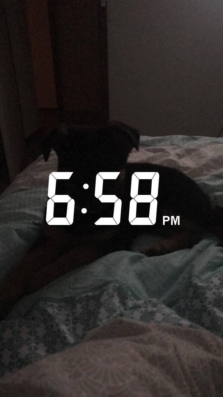6.58pm